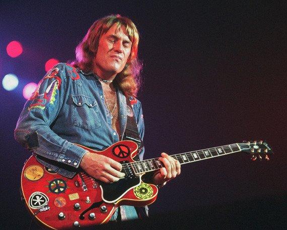 miniaturka gitary TEN YEARS LATER: ALVIN LEE GIBSON SG-335