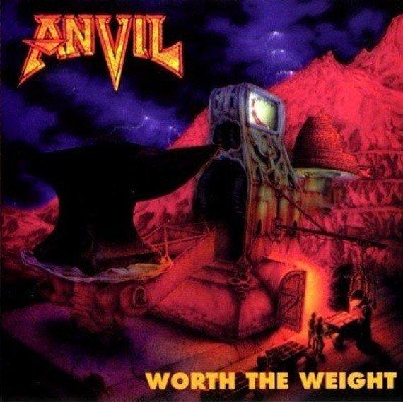 naszywka ANVIL - WORTH THE WEIGHT