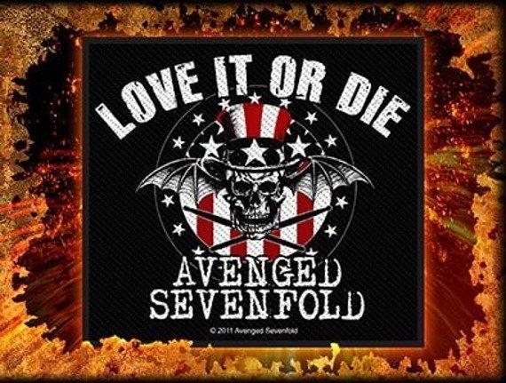 naszywka AVENGED SEVENFOLD - LOVE IT OR DIE