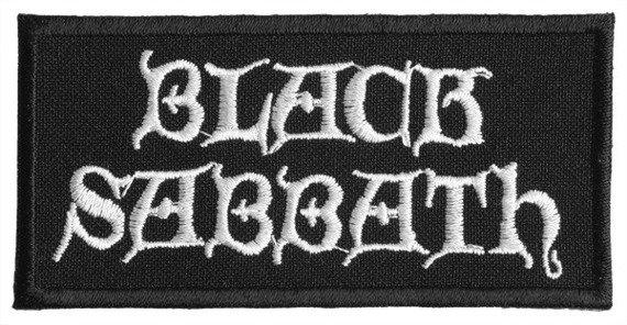 naszywka BLACK SABBATH - LOGO WHITE