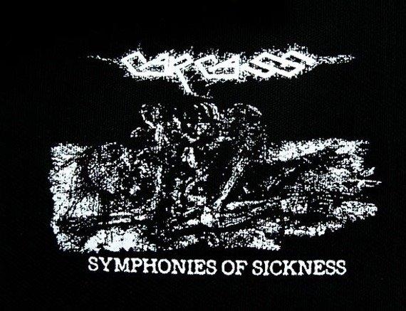 naszywka CARCASS - SYMPHONIES OF SICKNESS