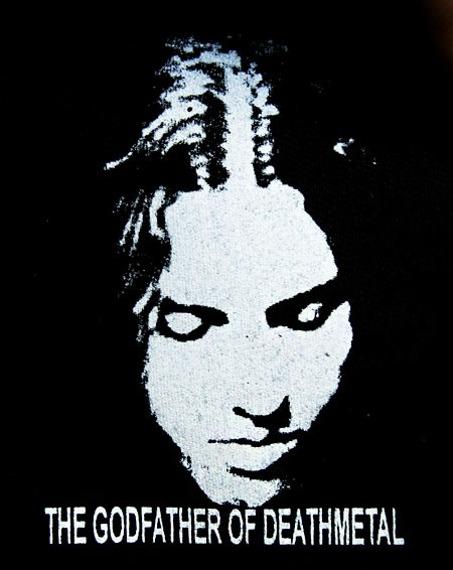 naszywka CHUCK SCHULDINER - THE GODFATHER OF DEATHMETAL