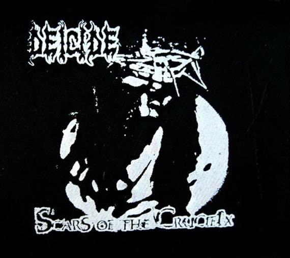 naszywka DEICIDE - SCARS OF THE CRUCIFIX