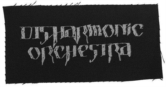 naszywka DISHARMONIC ORCHESTRA - LOGO