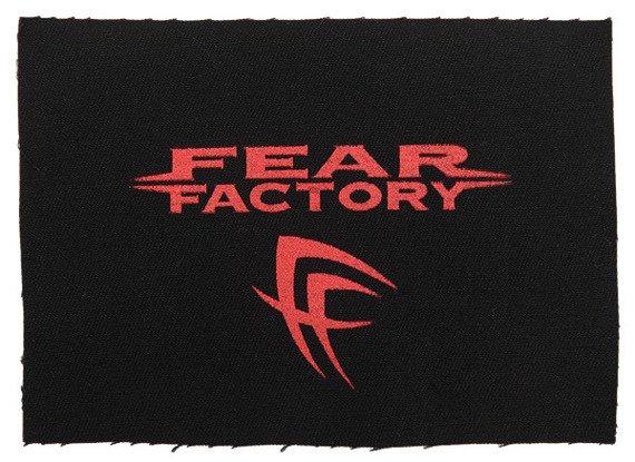 naszywka FEAR FACTORY - LOGO SIGN RED