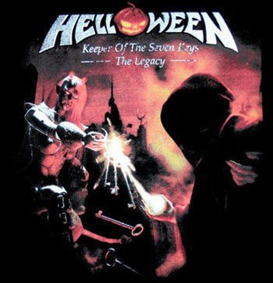 naszywka HELLOWEEN - KEEPER OF THE SEVEN KEYS: LEGACY