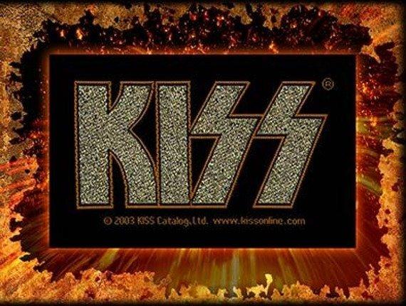 naszywka KISS - GOLD LOGO