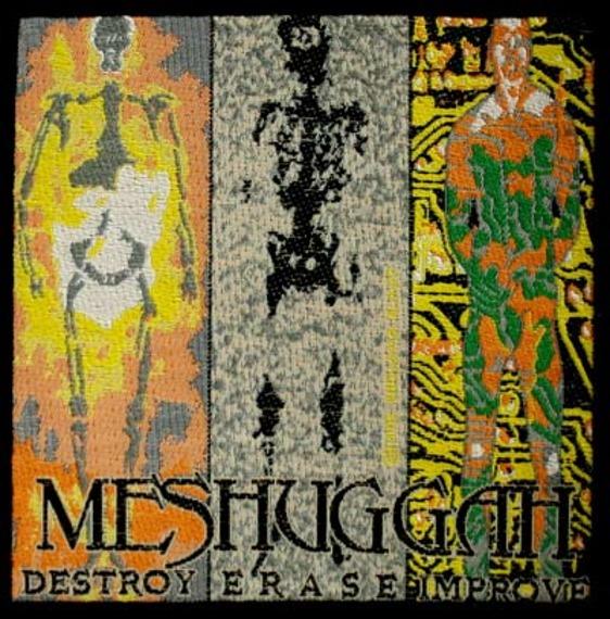 naszywka MESHUGGAH - DESTROY ERASEIMPROVE
