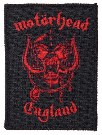 naszywka MOTORHEAD - ENGLAND RED