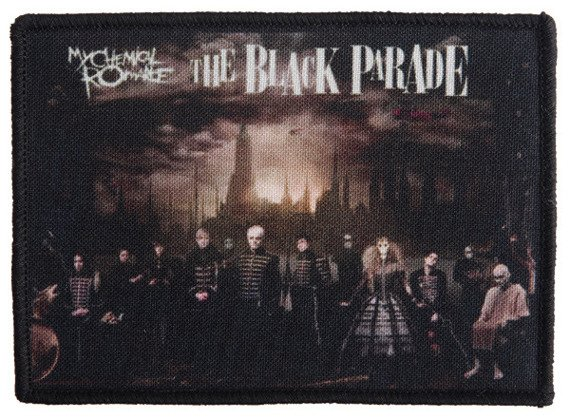 naszywka MY CHEMICAL ROMANCE - THE BLACK PARADE