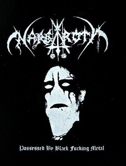 naszywka NARGAROTH - POSSESSED BY BLACK FUCKING METAL