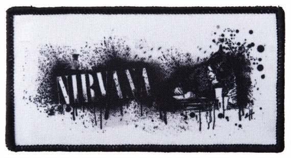naszywka NIRVANA - KURT