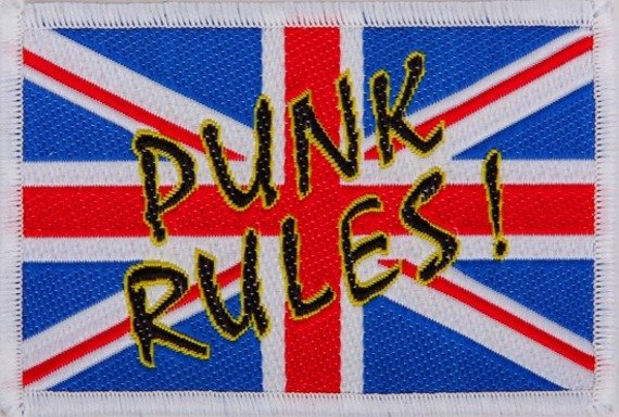 naszywka PUNKS RULES!