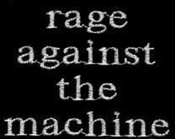 naszywka RAGE AGAINST THE MACHINE