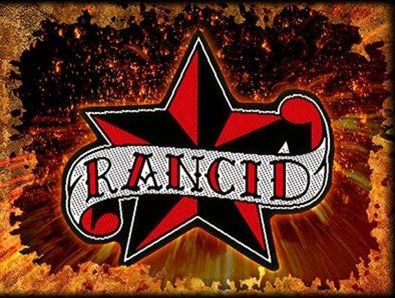 naszywka RANCID - STAR CUT OUT