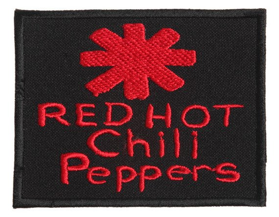 naszywka RED HOT CHILI PEPPERS - LOGO RED