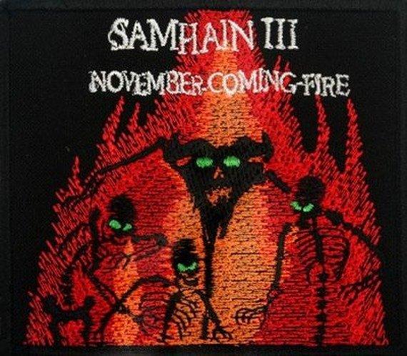 naszywka SAMHAIN III - NOVEMBER-COMING-FIRE