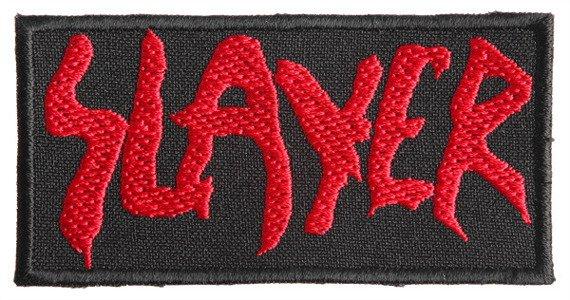 naszywka SLAYER - LOGO RED
