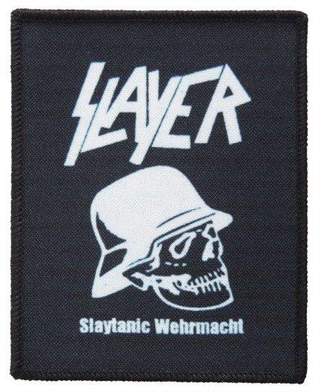 naszywka SLAYER - SLAYTANIC WEHRMACHT