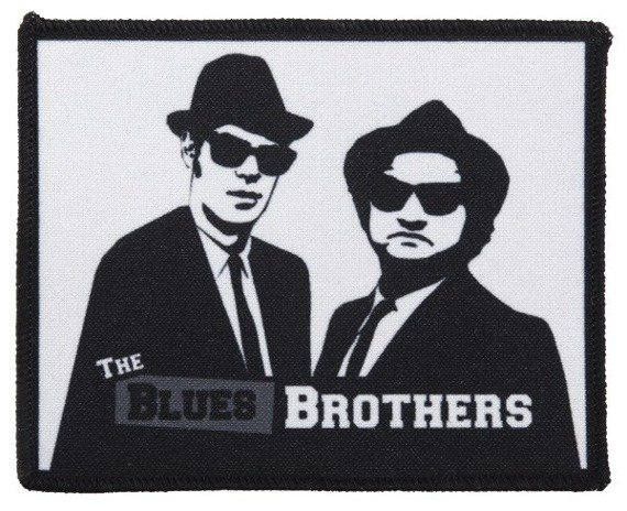 naszywka THE BLUES BROTHERS
