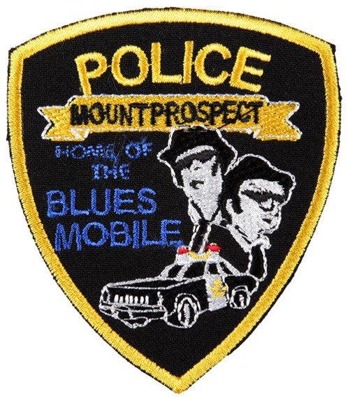 naszywka THE BLUES BROTHERS - MOUNT PROSPECT