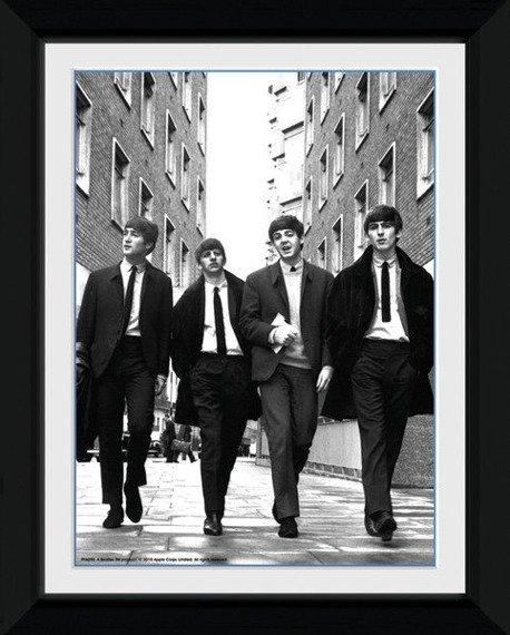 obraz w ramce THE BEATLES - IN LONDON