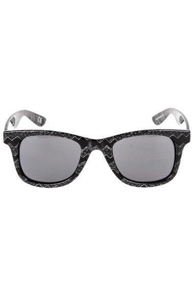 okulary VANS - JANELLE HIPSTER BLACK/OATMEAL