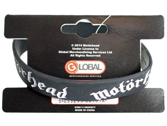 opaska MOTORHEAD - LOGO, silikonowa
