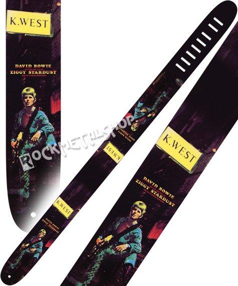 pas do gitary DAVID BOWIE - ZIGGY STARDUST skórzany, 63mm