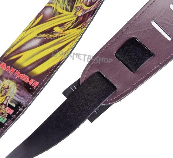 pas do gitary IRON MAIDEN - KILLERS skórzany, 63mm