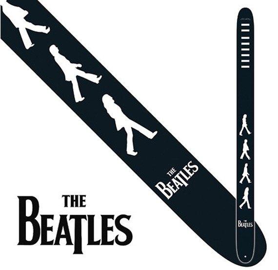 pas do gitary THE BEATLES -  ABBEY ROAD skórzany, 63mm