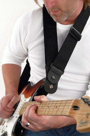 pas do gitary podwójny PLANET WAVES BLACK (50DARE000)