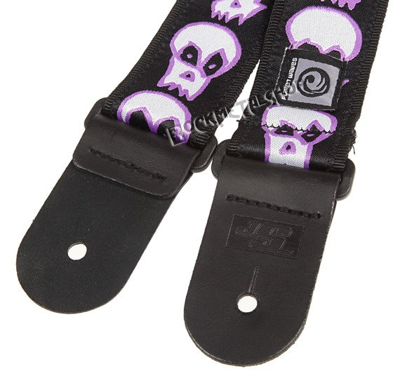 pasek do gitary JOE SATRIANI SIGNATURE - SKULLS (50JS07)