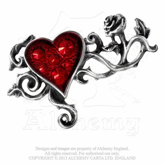 pierścień BED OF BLOOD ROSES