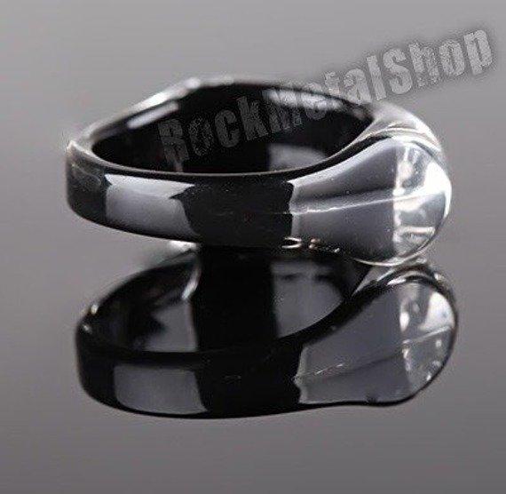 pierścień FOOT czarny