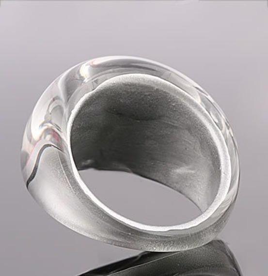 pierścień PATTERN perłowy