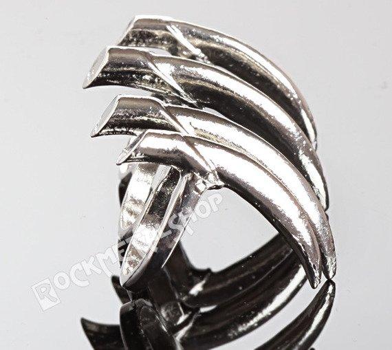 pierścionek PAZURY