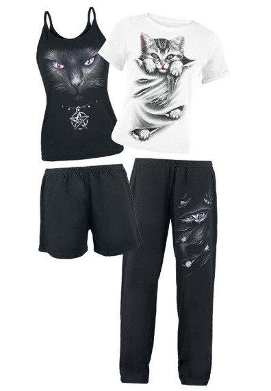 piżama SPIRAL - BRIGHT EYES zestaw 4-częściowy
