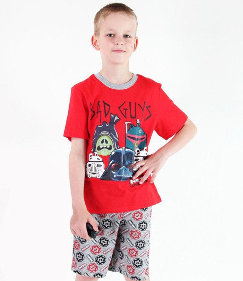 piżama dziecięca ANGRY BIRDS STAR WARS - BAD GUYS