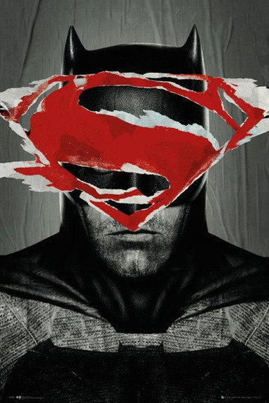 plakat BATMAN VS SUPERMAN - BATMAN TEASER