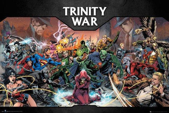 plakat DC COMICS - TRINITY WAR