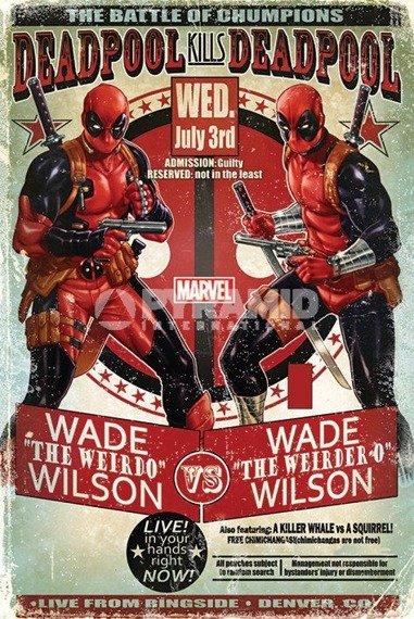 plakat DEADPOOL - WADE vs WADE