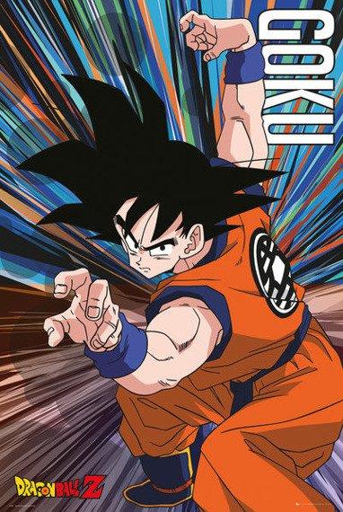 plakat DRAGON BALL Z - GOKU JUMP