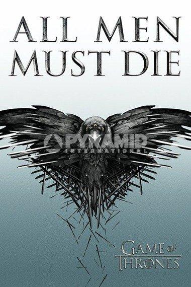 plakat GAME OF THRONES - ALL MEN MUST DIE