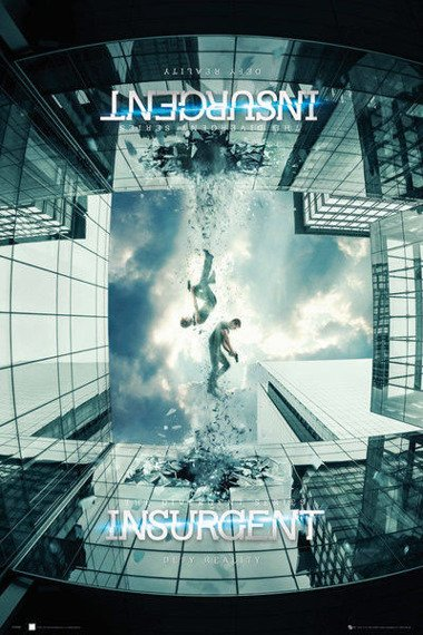 plakat INSURGENT (ZBUNTOWANA) - TEASER