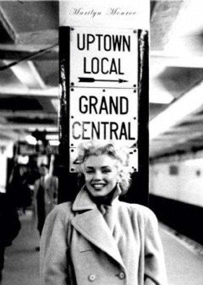 plakat MARILYN MONROE - GRAND CENTRAL