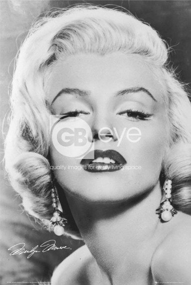 plakat MARILYN MONROE - LOVE