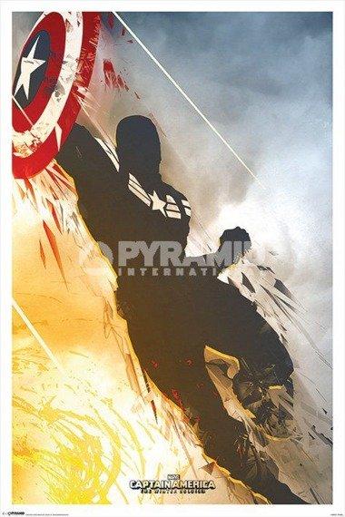 plakat MARVEL - CAPTAIN AMERICA - WINTER SOLDIER