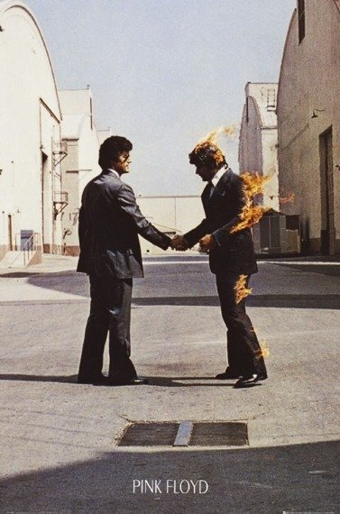 plakat PINK FLOYD - WISH YOU WERE HERE