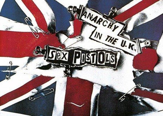 plakat SEX PISTOLS - ANARCHY